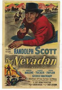 The Nevadan - 27 x 40 Movie Poster - Style A