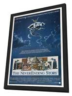 The NeverEnding Story - 11 x 17 Movie Poster - Style A - in Deluxe Wood Frame