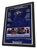 The NeverEnding Story - 27 x 40 Movie Poster - Style A - in Deluxe Wood Frame