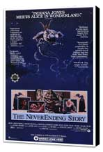 The NeverEnding Story - 27 x 40 Movie Poster - Style A - Museum Wrapped Canvas