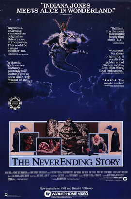 The NeverEnding Story - 11 x 17 Movie Poster - Style B