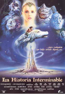 The NeverEnding Story - 27 x 40 Movie Poster - Spanish Style A