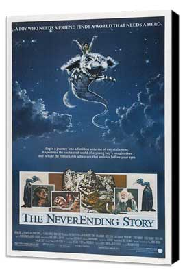 The NeverEnding Story - 11 x 17 Movie Poster - Style A - Museum Wrapped Canvas