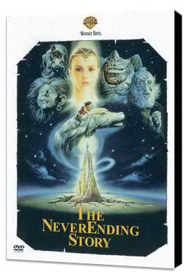 The NeverEnding Story - 11 x 17 Movie Poster - Style C - Museum Wrapped Canvas