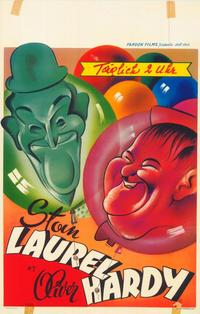 The New Adventures of Laurel and Hardy - 27 x 40 Movie Poster - Belgian Style A