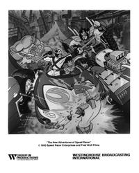 The New Adventures of Speed Racer - 8 x 10 B&W Photo #1