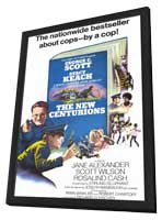 The New Centurions - 11 x 17 Movie Poster - Style A - in Deluxe Wood Frame