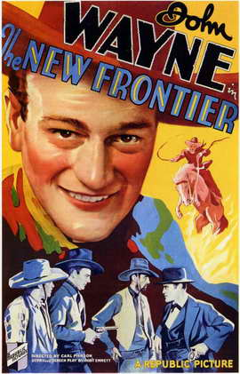 The New Frontier - 11 x 17 Movie Poster - Style A