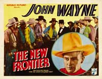 The New Frontier - 22 x 28 Movie Poster - Half Sheet Style A
