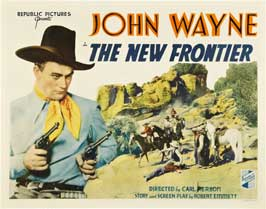 The New Frontier - 22 x 28 Movie Poster - Half Sheet Style B