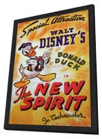 The New Spirit - 27 x 40 Movie Poster - Style A - in Deluxe Wood Frame