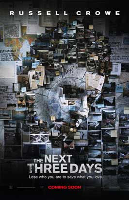 The Next Three Days - 27 x 40 Movie Poster - Style A