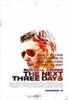 The Next Three Days - 11 x 17 Movie Poster - Style B