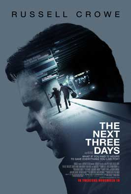 The Next Three Days - 27 x 40 Movie Poster - Style C