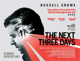 The Next Three Days - 30 x 40 Movie Poster UK - Style A
