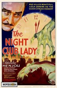 The Night Club Lady - 27 x 40 Movie Poster - Style A