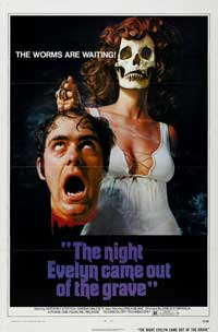 The Night Evelyn Came Out of the Grave - 11 x 17 Movie Poster - Style C