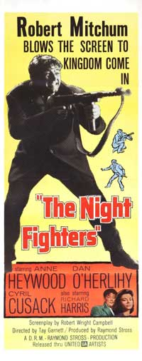 Night Fighters - 14 x 36 Movie Poster - Insert Style A