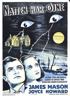The Night Has Eyes - 27 x 40 Movie Poster - Swiss Style A