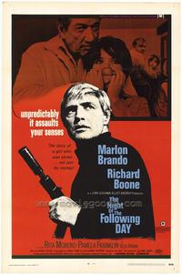 The Night of the Following Day - 27 x 40 Movie Poster - Style A