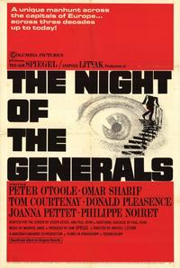 The Night of the Generals - 11 x 17 Movie Poster - Style A