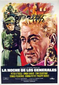 The Night of the Generals - 27 x 40 Movie Poster - Spanish Style A