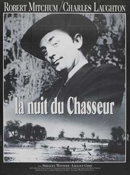 The Night of the Hunter - 27 x 40 Movie Poster - French Style A