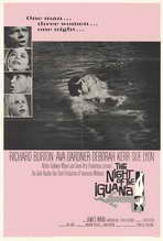 The Night of the Iguana - 27 x 40 Movie Poster - Style A