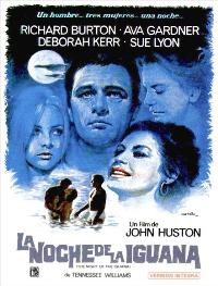 The Night of the Iguana - 27 x 40 Movie Poster - Spanish Style B