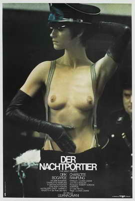 The Night Porter - 27 x 40 Movie Poster - German Style A