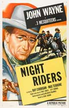 The Night Riders - 11 x 17 Movie Poster - Style C