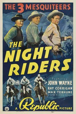 The Night Riders - 27 x 40 Movie Poster - Style B