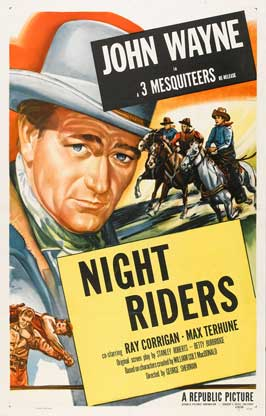 The Night Riders - 27 x 40 Movie Poster - Style C