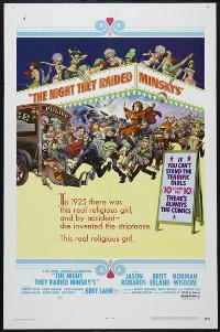 The Night They Raided Minsky's - 43 x 62 Movie Poster - Bus Shelter Style A