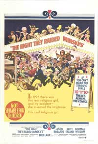 The Night They Raided Minsky's - 11 x 17 Movie Poster - Australian Style A