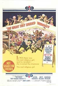 The Night They Raided Minsky's - 27 x 40 Movie Poster - Australian Style A