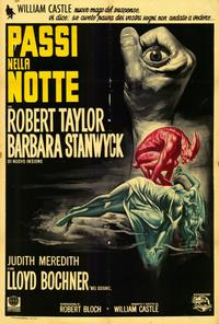 The Night Walker - 27 x 40 Movie Poster - Italian Style A