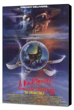 A Nightmare on Elm Street 5: The Dream Child - 11 x 17 Movie Poster - Style A - Museum Wrapped Canvas