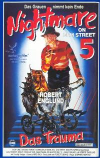A Nightmare on Elm Street 5: The Dream Child - 11 x 17 Movie Poster - German Style A