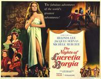 The Nights of Lucretia Borgia - 11 x 14 Movie Poster - Style B