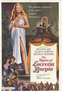 The Nights of Lucretia Borgia - 27 x 40 Movie Poster - Style A