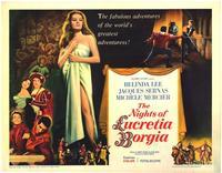 The Nights of Lucretia Borgia - 22 x 28 Movie Poster - Half Sheet Style A