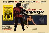 The Nights of Rasputin - 22 x 28 Movie Poster - Half Sheet Style A