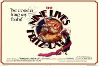 The Nine Lives Of Fritz the Cat - 27 x 40 Movie Poster - Style A