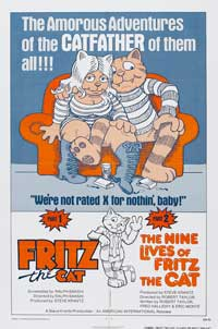 The Nine Lives Of Fritz the Cat - 27 x 40 Movie Poster - Style C