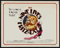 The Nine Lives Of Fritz the Cat - 22 x 28 Movie Poster - UK Style A