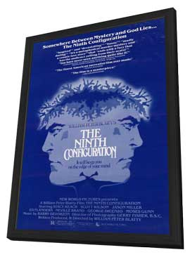 The Ninth Configuration - 11 x 17 Movie Poster - Style A - in Deluxe Wood Frame