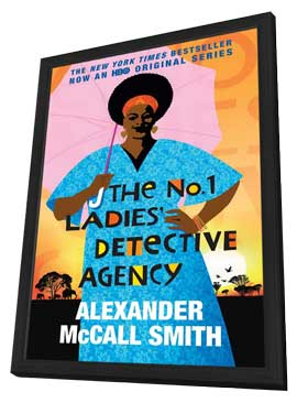 The No. 1 Ladies' Detective Agency (TV) - 11 x 17 TV Poster - Style A - in Deluxe Wood Frame