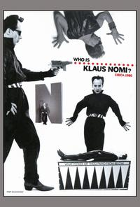 The Nomi Song - 11 x 17 Movie Poster - Style B