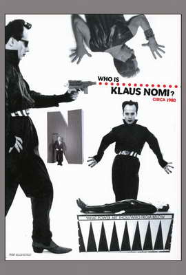 The Nomi Song - 27 x 40 Movie Poster - Style B